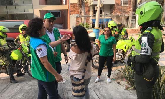 Operativos contra la mendicidad y explotación laboral infantil en Barranquilla