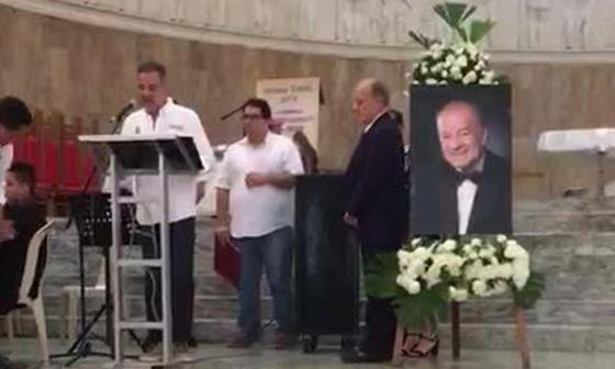 Autoridades hacen homenaje póstumo al maestro Luis Biava Sosa