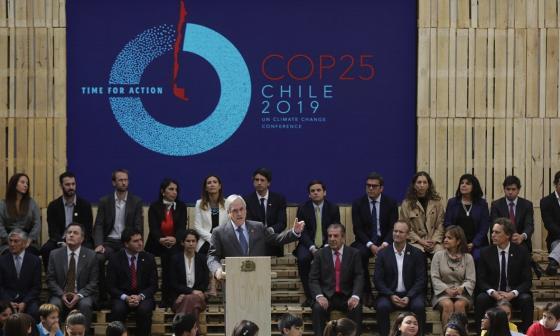 """Chile pide mayor compromiso para evitar """"holocausto"""" ambiental al lanzar COP25"""