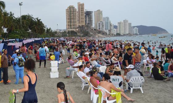 Turismo le cumplió a Santa Marta, pese a crisis por agua
