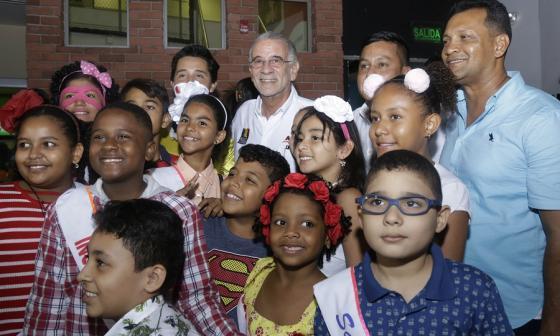 Más de mil niños de zonas apartadas del Atlántico celebraron su día