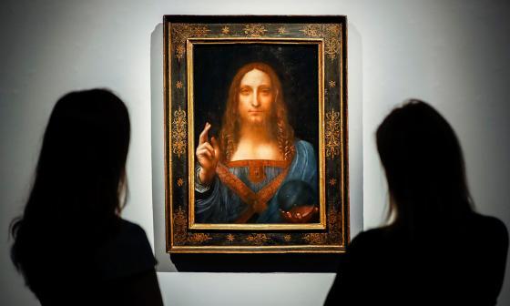 El cuadro 'Salvator Mundi' fue vendido en 2017.