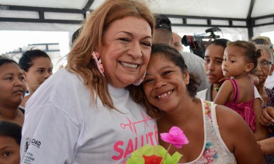 AONU y Unicef hicieron presencia en Salutón para mujeres en Soledad