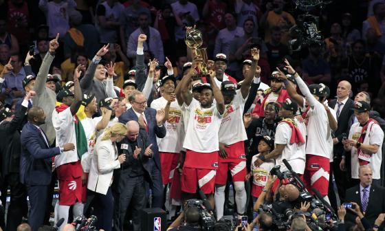 Los Raptors acabaron el reinado de los Warriors