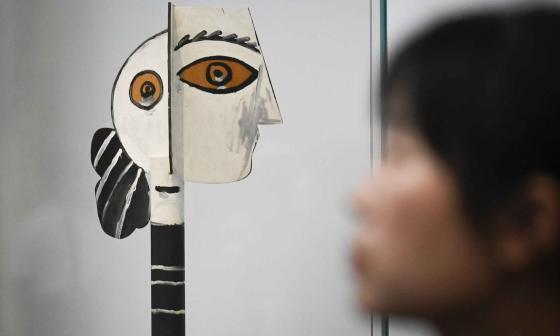 Pekín es la sede de la mayor exposición de Picasso en China