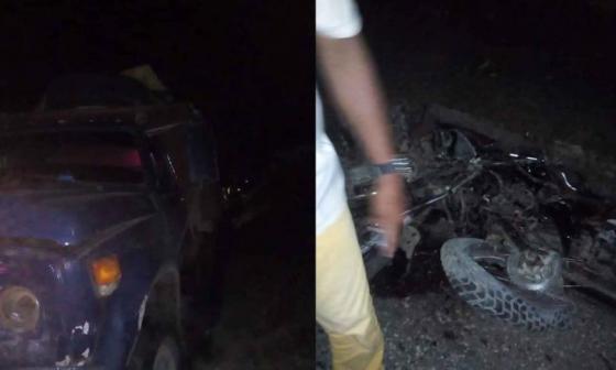Buscan al conductor de volqueta que mató a nueve personas en Córdoba