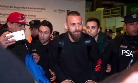 De Rossi arriba a Argentina para incorporarse a Boca Juniors