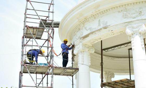 Comienzan estudios para restauración del templete de Ciénaga