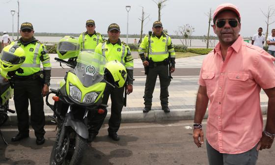 Comienza operación de Barranquilla del Cuerpo Especial contra la Ilegalidad y Siniestralidad en las vías