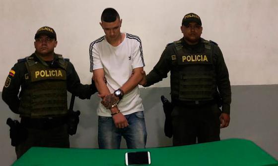 En video |Por GPS de celular, capturan a 'el Tigre' con vehículo robado en norte de Barranquilla
