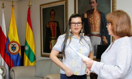 La abogada y especialista en derecho administrativo Norma Fernández.