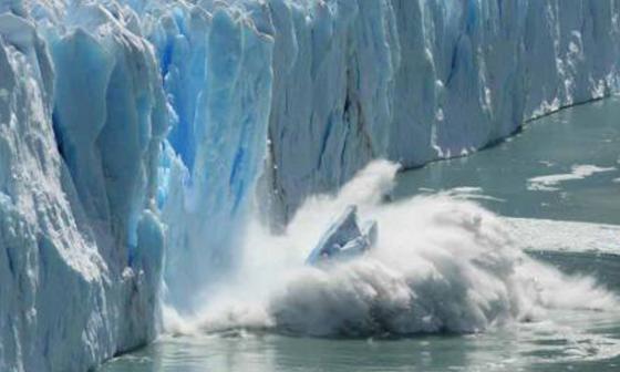 Microplásticos en hielo ártico advierten de contaminación atmosférica generalizada