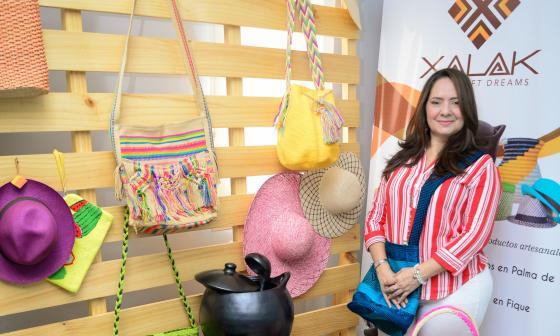 Xalak promueve la exportación de artesanías colombianas al mundo