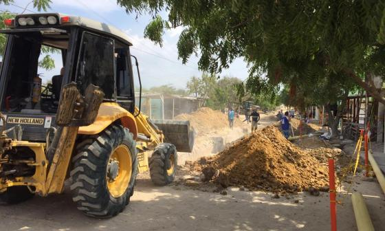 Otros 1.600 metros de pavimento se construirán en Soledad