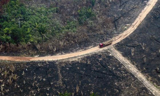 G7 desbloqueará ayuda de emergencia para enviar aviones hidrantes a la Amazonía
