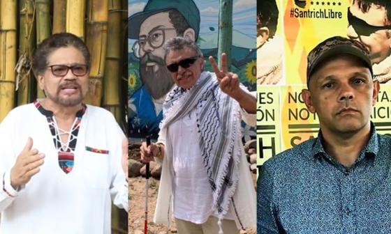 Márquez, Santrich y El Paisa, los radicales de las Farc que retoman las armas