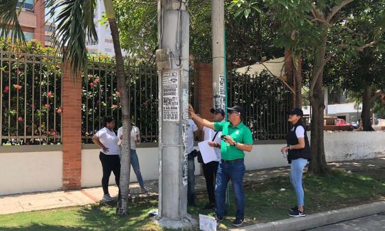 Distrito investiga la evasión en la legalización de antenas