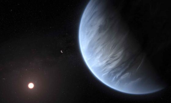 Planeta K2-18b.