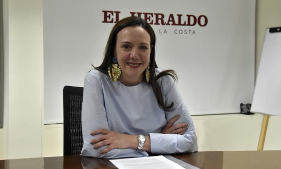 La directora de Enterritorio, María Elia Abuchaibe.