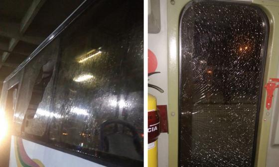 Transmetro reporta vandalismo y retrasos en el servicio