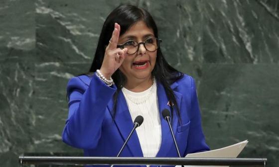 Vicepresidenta de Venezuela entregó datos falsos en la ONU