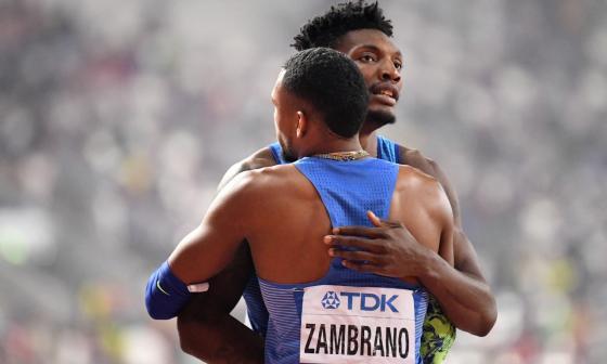 Esto fue lo que ganó Anthony Zambrano por la medalla de plata en Mundial de Atletismo
