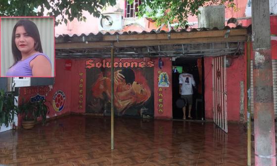 Dentro de una de las habitaciones de este motel, ubicado frente al estadio Metropolitano, encontraron el cuerpo de Karines Bohórquez Rondón con una sábana atada al cuello.