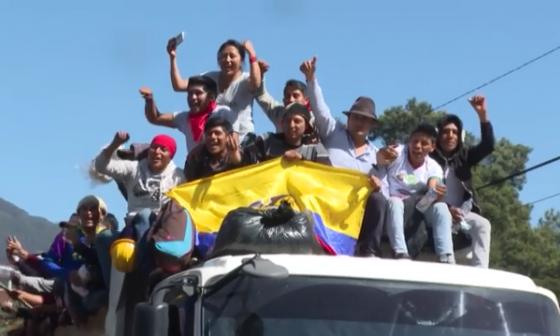 En video | Ecuador recupera la calma tras protestas por eliminación de subsidios