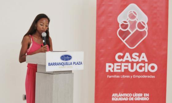 Milena De Alba habla de su proceso dentro de la Casa Refugio.