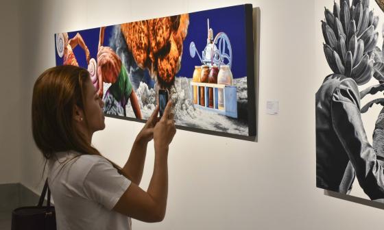 Arte inédito de artistas caribes en La Galería