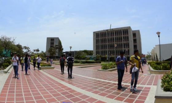 Campus de la Universidad del Atlántico, sede norte.