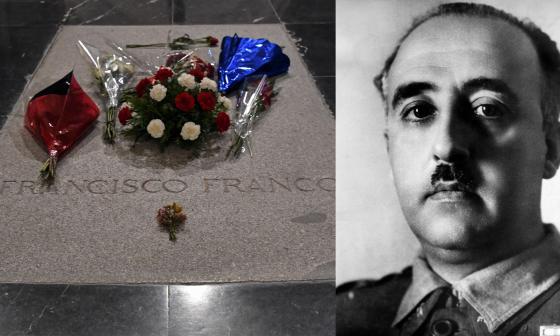 Histórica exhumación de restos del general Franco