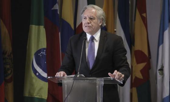 """Almagro denuncia """"patrón"""" de desestabilización de Venezuela y Cuba en la región"""