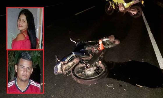 """""""Estaban en una fiesta y le pidieron llevarla en la moto"""": familiar de víctima de accidente en Ponedera"""