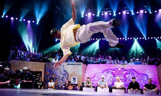El arte de ser un deportista en el Mundial de breakdance
