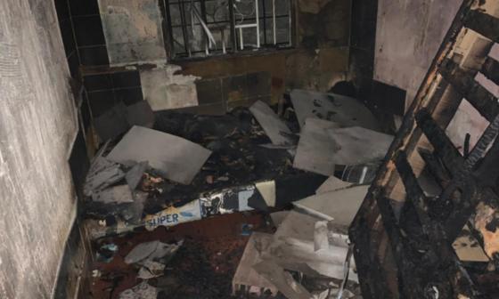 Mueren dos niñas al incendiarse el cuarto donde dormían en el barrio San Luis