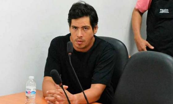 Cristian Camilo Bellón, uno de los procesados.
