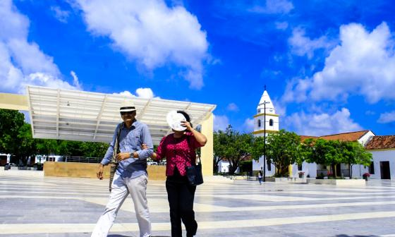 En video | La plaza con piso de mármol que le costó $9.870 millones a Valledupar