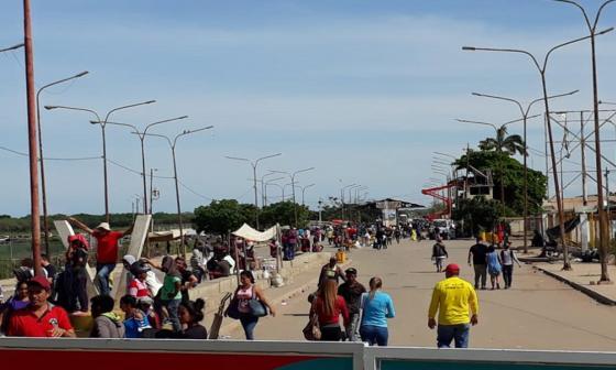 Cierre de frontera, ley seca y suspensión de clases en La Guajira por el paro nacional
