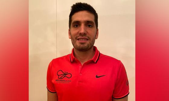 Daniel Trujillo, director de la campaña de los Juegos Panamericanos.