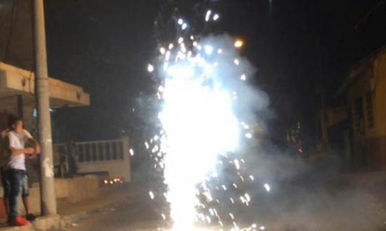 Dos quemados con pólvora en La Guajira