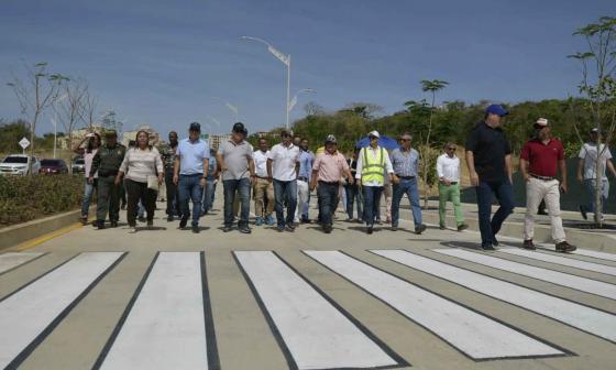 En video | Estas vías las construimos para mejorar el nivel de vida de la gente: alcalde Char