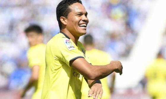 Bacca vuelve al gol y anota triplete con el Villarreal