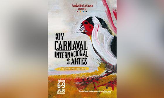 Afiche del Carnaval Internacional de las Artes.