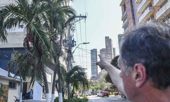En el barrio Paraíso denuncian fallas de servicio de energía