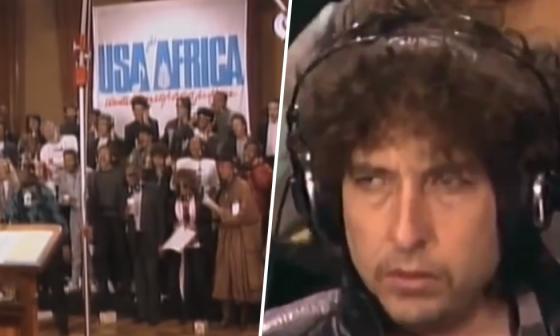 """""""We are the world"""": 35 años de una canción que marcó a Bob Dylan y al mundo"""
