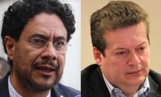 Iván Cepeda y Alirio Uribe.