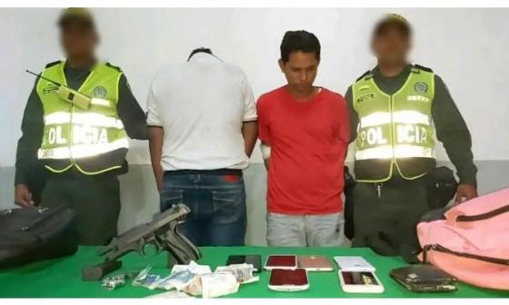 A la cárcel presuntos atracadores capturados por el General Botero