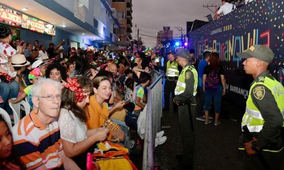 Cero homicidios reporta la Policía durante el desfile de la Guacherna
