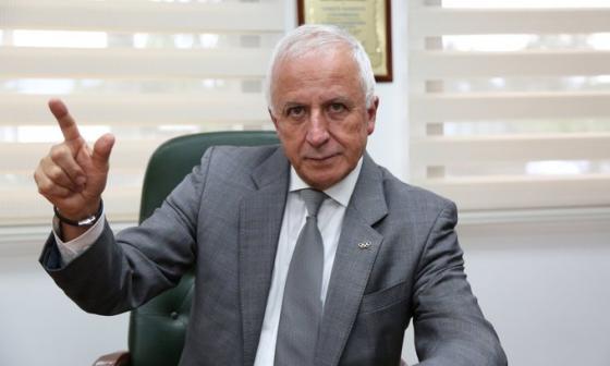 Baltazar Medina, presidente del Comité Olímpico Colombiano (COC).